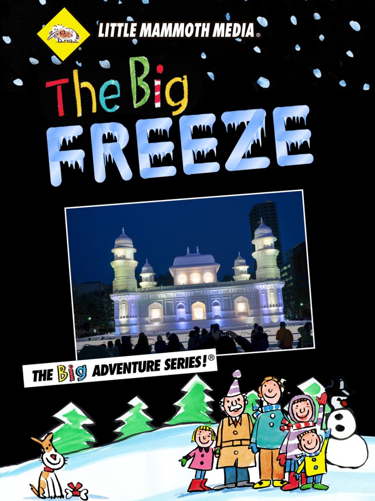 Big Freeze DVD Cover Design