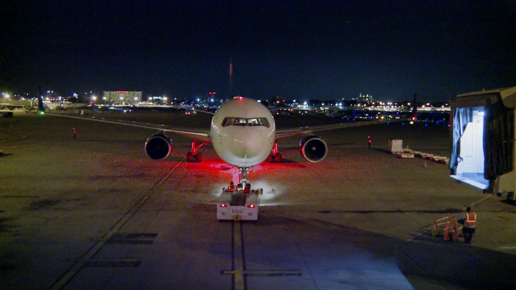 767 Push Back Night